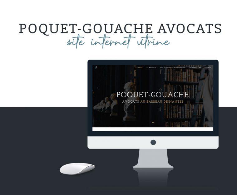 Poquet-Gouache Avocats – Site web